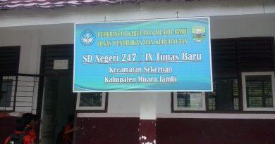 Menyedihkan, SD Negeri 247/IX Desa Tunas Baru Dibawah Standar Kelayakan Pendidikan Nasional