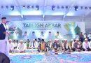 Puluhan Ribu Jamaah Putihkan Lapangan Kantor Wali Kota