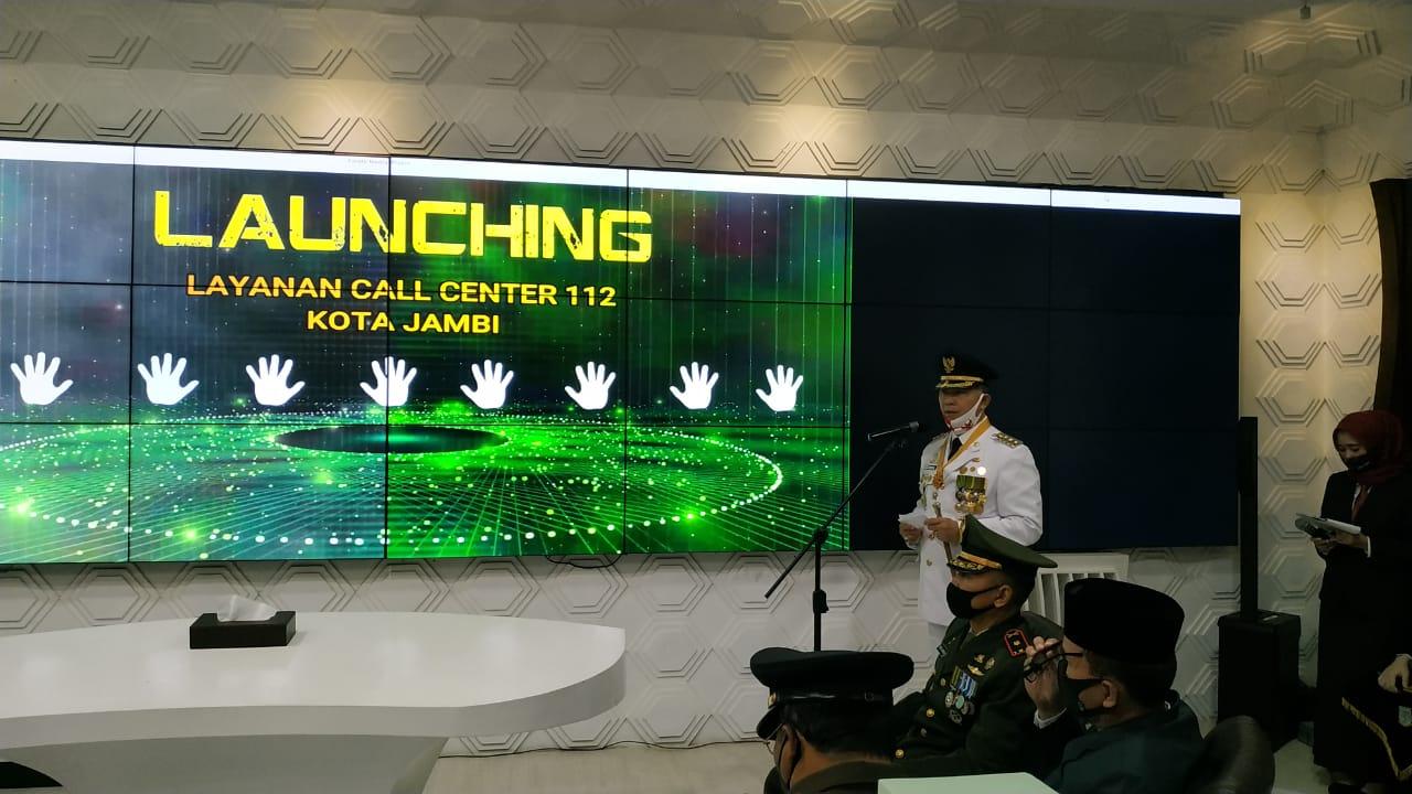 Pemkot Jambi Resmi Launching Layanan Call Center 112 Kota ...